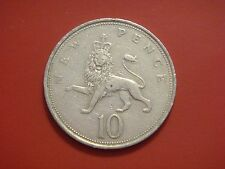 Great Britain 10 New Pence, 1969 Coin