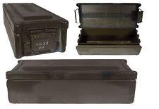 NATO Munitionskiste  Bügelverschluss oliv gebraucht Metallkiste Lagerkiste Box