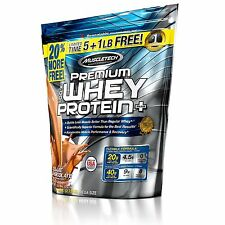 Muscle Builder Tech Premium Whey Protein 6lbs Chocolate Shake Flavor muscletech