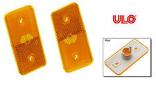 Side Marker Light Lens ULO SET OF 2 75-93 Volkswagen Cabriolet Rabbit Rabbit Con