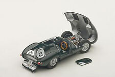 Autoart JAGUAR D-TYPE LM 24HR RACE 1955 WINNER HAWTHORN/BUEB #6 1/43 New Release
