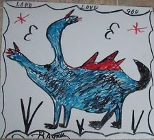 R. A. MILLER - SOUTHERN OUTSIDER ARTIST - LORD LOVE YOU