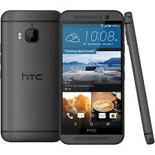 Original HTC One M9 32GB GUN METAL GREY 4G LTE UNLOCKED Android 6.0.0 Extras