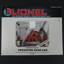 Lionel operating Hand Car 6-18401 0 Scale - Used Working