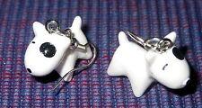 BULL TERRIER BULLTERRIER Hund dog Ohrringe earrings -NA1 - NEU!