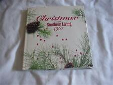 Book Christmas with Southern Living 1981 Crafts Recipes Decorating Ideas Gifts