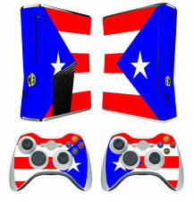 Flag 266 Vinyl Decal Cover Skin Sticker for Xbox360 slim and 2 controller skins