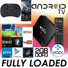 2016 JAILBREAK 4K MX III 8G 2G KODI FULLY LOADED ANDROID 4.4 TV BOX FREEKEYPAD