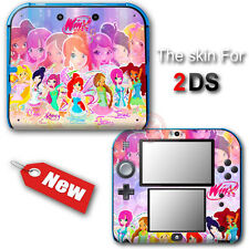 Winx Club Cute Fairy NEW SKIN VINYL STICKER DECAL COVER #2 for Nintendo 2DS