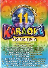 KARAOKE- JENNIFER- MIKE BRANT - JULIEN CLERC -DALIDA - AZNAVOUR - BRUEL   DVD
