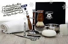 10 Pieces Luxury Men's Grooming Kit With Gillette Mach 3 Razor.Perfect as a Gift