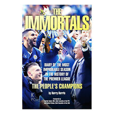 LEICESTER CITY FC THE IMMMORTAL THE STORY OF PREMIER LEAGUE BOOK 2015-2016 GIFT