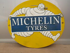 Lovely MICHELIN MAN Advertising SIGN, metal not enamel of a Running Man.