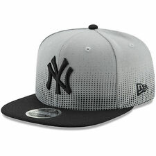 New Era New York Yankees Gray/Black Flow Team 9FIFTY Adjustable Snapback Hat