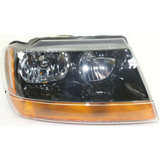 NEW CAPA CH2503121C FITS 99-02 GRAND CHEROKEE PASSENGER SIDE HEAD LAMP ASSEMBLY