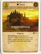 A Game of Thrones LCG - 1x Dorne #031 - Ice and Fire Draft Pack