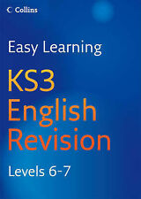 COLLINS EASY LEARNING KEY STAGE 3 ENGLISH REVISION LEVELS 6 - 7 AGE 11-14 KS3