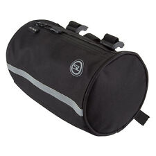 Bicycle Handlebar Touring Bag Sunlite Roll w/Liner Black Strap On NEW