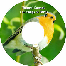 Natural Sounds Las Canciones de las aves CD Relaxation Ayudar A Dormir