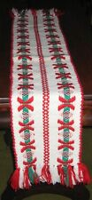 "Vintage Scarf hand woven in Holland, early 1980s. NEW. 8-1/2"" x 50"""