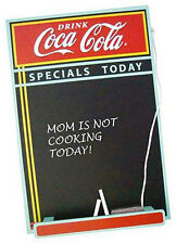 Coca Cola: Vintage Design Specials Today Wooden Chalkboard - New & Official