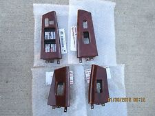 03 - 08 TOYOTA COROLLA LE S SET OF ALL FOUR WINDOW SWITCH BEZEL TRIM BRAND NEW
