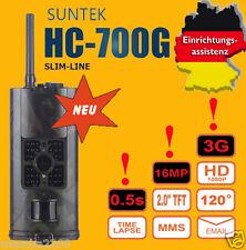 3G 16MP, Wildkamera HC-700G Weitwinkel 120°  GPRS/Email inkl.Konfig. auf SD