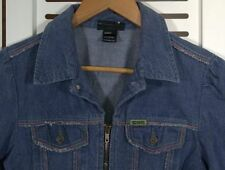 "DIESEL ""KIMTI LONG-RIC"" Light DENIM JACKET Colorful-Seams Sz S"