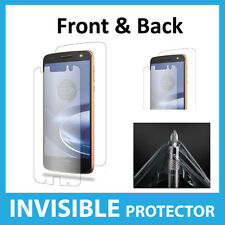 Motorola Moto Z Force Screen Protector INVISIBLE Shield Full FRONT AND BACK