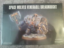Warhammer 40K space wolves venerable dreadnought/Murderfang-new & sealed