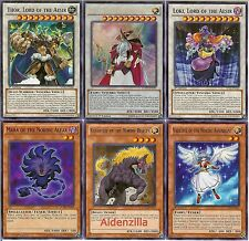 Yugioh Nordic Deck - 40 Cards + 7 Extra -- Thor, Odin, Loki, Valkyrie