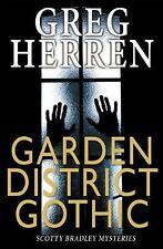 GAY BOOK: GARDEN DISTRICT GOTHIC by GREG HERREN, NEW MINT 2016