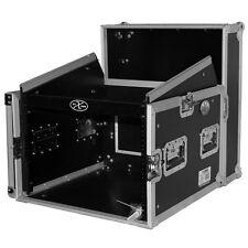 ProX T-8MRSS DJ Rack 8U Bottom x 10U Mixer Slanted Top Combo Flight Case
