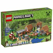 LEGO Minecraft 21128 BUILDING KIT, Kids Toy The Village 1600 Piece LEGO SET