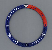 1/4 Red Pepsi Bezel Insert to fit Seiko 6105, 6309, 7002 & SKX007 divers watch