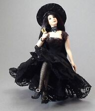 Dollhouse miniature 1/12th scale porcelain sexy witch