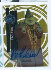 2015 Star Wars High Tek autograph Brian Blessed 34/50 Gold Rainbow