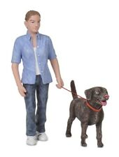 Bachmann 22-180 - Scenecraft Dog Walker + Dog 'G' Gauge - Tracked 48 Post