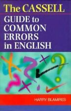 Cassell Guide to Common Errors in English-ExLibrary