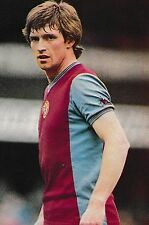 Football Photo KENNY SWAIN Aston Villa 1981-82