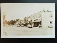 C 1950 Real Photo RPPC Postcard Chainway Store Main Street DELHI Ontario Canada