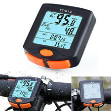 HOT Wireless Bike Cycling Bicycle Cycle Computer Odometer Speedometer Backlight