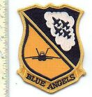 """Military Patch USN Blue Angels 5"""" Jacket Patch"""