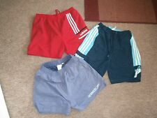 Mens SWIM SHORTS x 3~ADIDAS x 2 & SPEEDO~Small