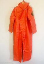 TRELLCHEM Type 4 chemical protection suit protective coverall PVC