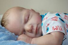 REBORN BABY BOY ELLIS FROM OLGA AUER KIT BY  VAHNI GOWING