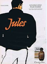 PUBLICITE ADVERTISING 035 1980 CHRISTIAN DIOR Jules par René Gruau 1