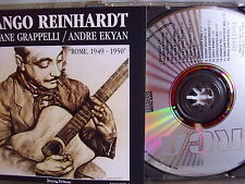 Django Reinhardt/ Grappelli/ Ekyan- Rome 1949-50 Vol.1- RCA 1987 Made in Germany