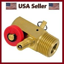 1 NEW BRASS BELL AIR COMPRESSOR TANK MANIFOLD REPLACEMENT VALVE TOOL KIT