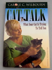 """""""Cat Talk"""" book by C Wilbourn, Cat Therapy ~ What Your Cat Is Trying To Tell You"""